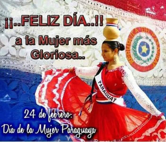 24 de febrero, Día de la Mujer Paraguaya